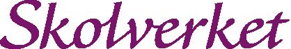 Bildens visar Skolverkets logotyp