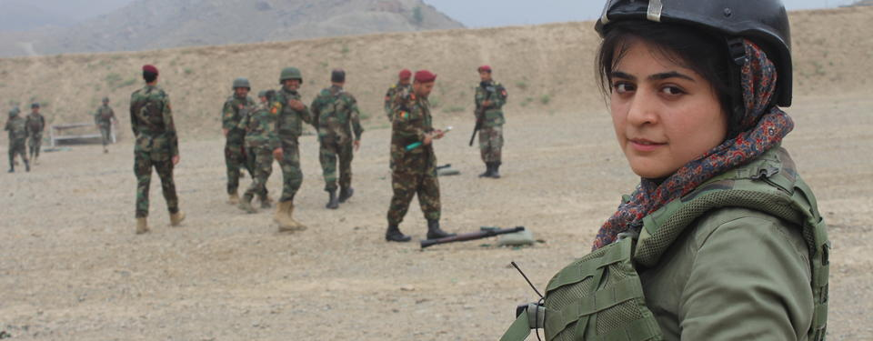 Najwa Alimi. Photo: Zan TV.
