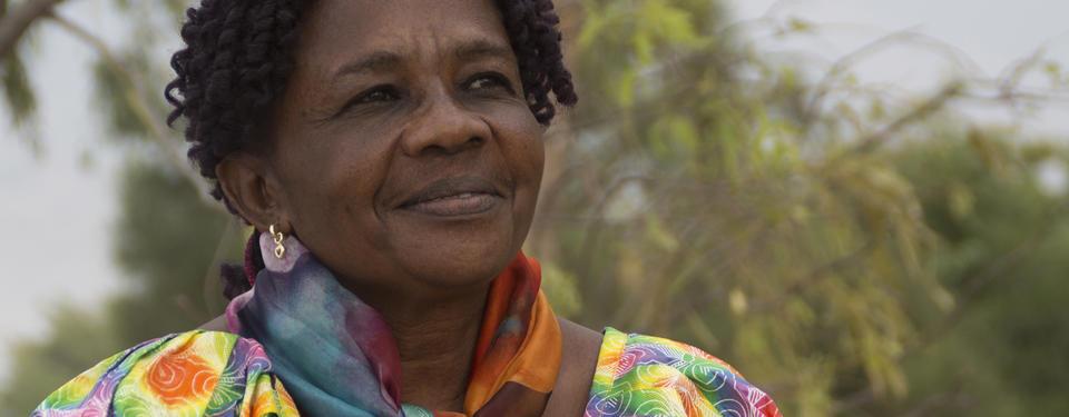 Porträttbild på Gégé Katana Bukuru