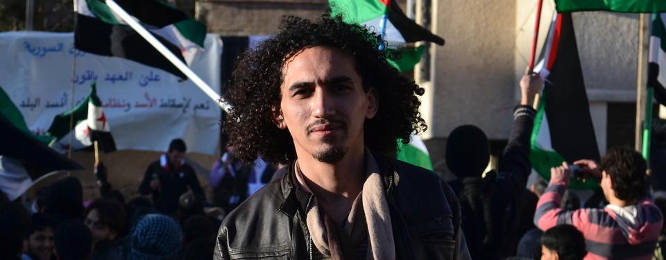 Bilden föreställer Abdullah al-Khateeb